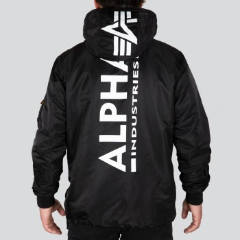 HPO ANORAK BP - black