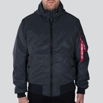 MA-1 Hooded Reflective - black