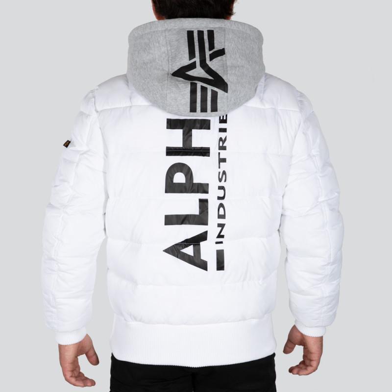 MA-1 ZH Backprint Puffer FD - fehér