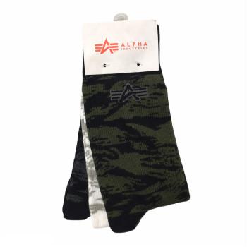 Graphic AOP Socks 3 Pak - mix