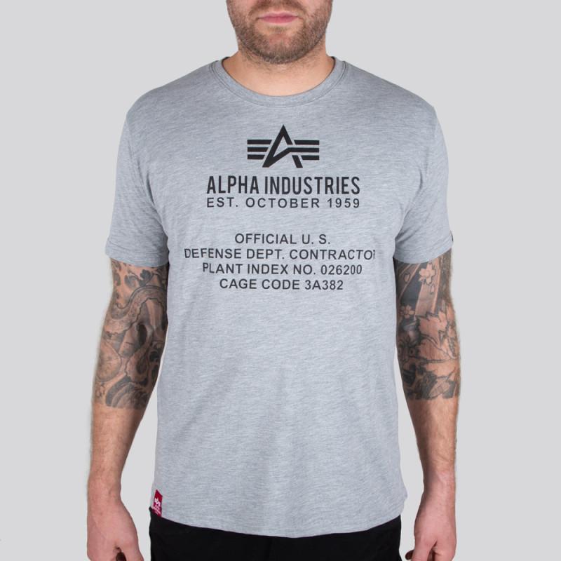 Alpha Fundamental T - greyheather