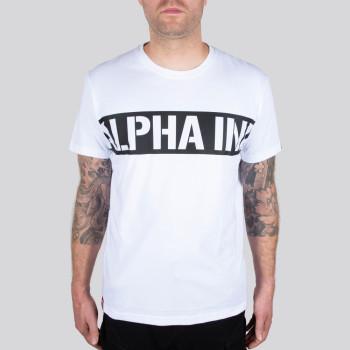 Printed Stripe T - fehér
