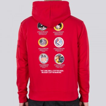 Apollo Mission Hoody - speed red