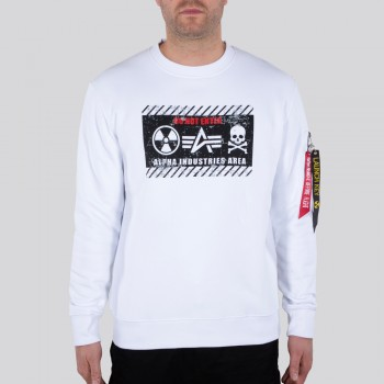 Radioactive Sweater - white