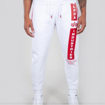Defense Jogger - white/red