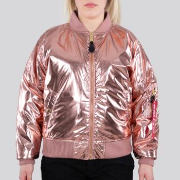 MA-1 OS Metallic Woman - rose copper