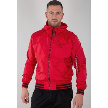 MA-1 LW Hooded PZ - speed red