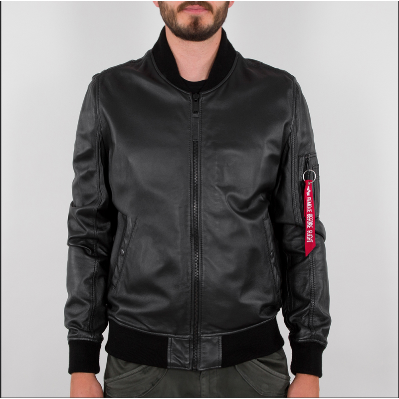 MA-1 Leather LW II - black