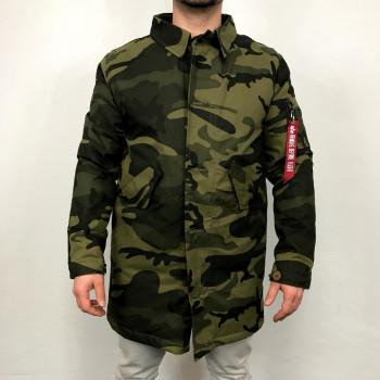 Military Coat CW - olive camo