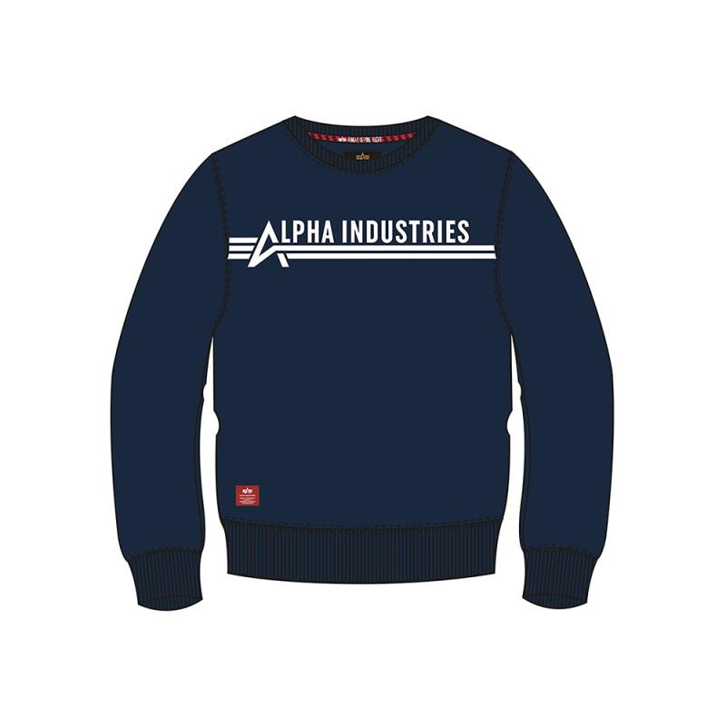 Alpha Industries Sweater Kids - replica blue