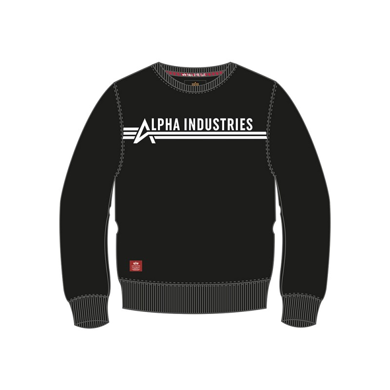 Alpha Industries Sweater Kids - black/white