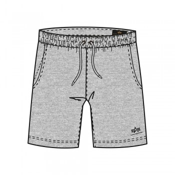 Basic Jogger Short SL Kids - grey heather