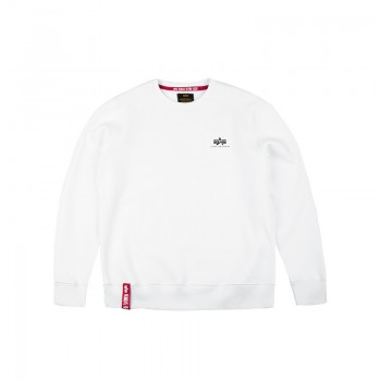 Basic Sweater Small Logo Kids/Teens - fehér