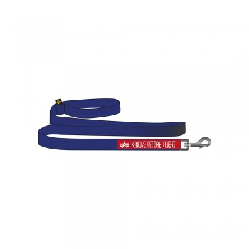 Basic Dog Leash - nasa blue