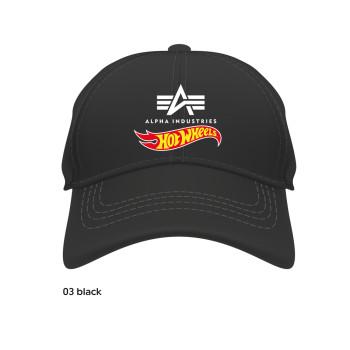 Hot Wheels Flag Cap - fekete