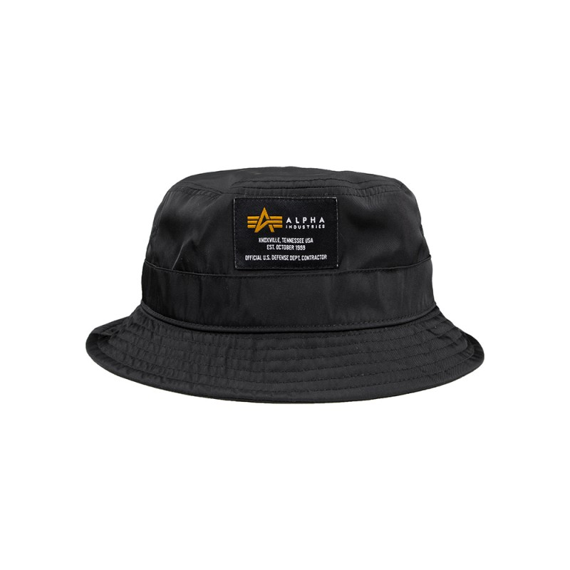 Crew Bucket Hat - fekete