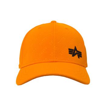 Embossed Cap - alpha orange