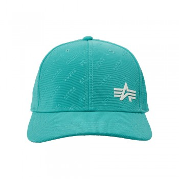 Embossed Cap - blue lagoon