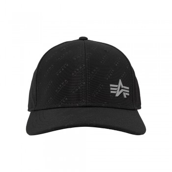 Embossed Cap - fekete