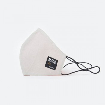 Label Ripstop Facemask - sand