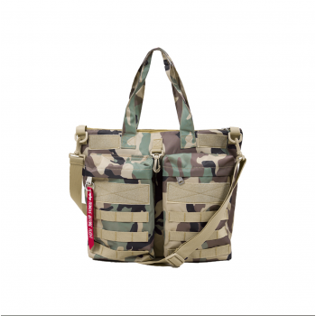 Tactical Helmet Bag - woodcamo65