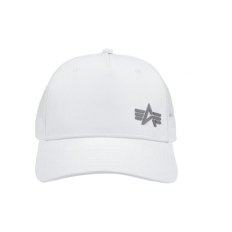 Trucker Cap Small Logo - fehér