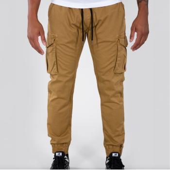 Cotton Twill Jogger - khaki