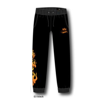 Flame Jogger - fekete