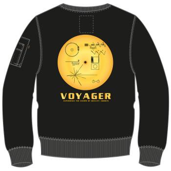 NASA Voyager Sweater - fekete