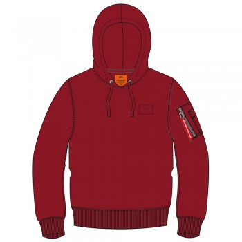 X-Fit Hoody - rbf red