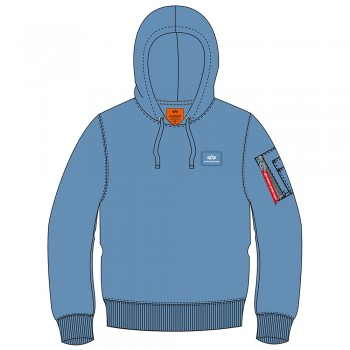 X-Fit Hoody - airforce blue