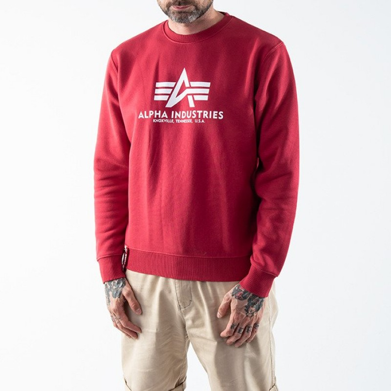 Basic Sweater - rbf red