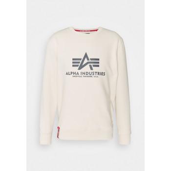 Basic Sweater - jet stream white