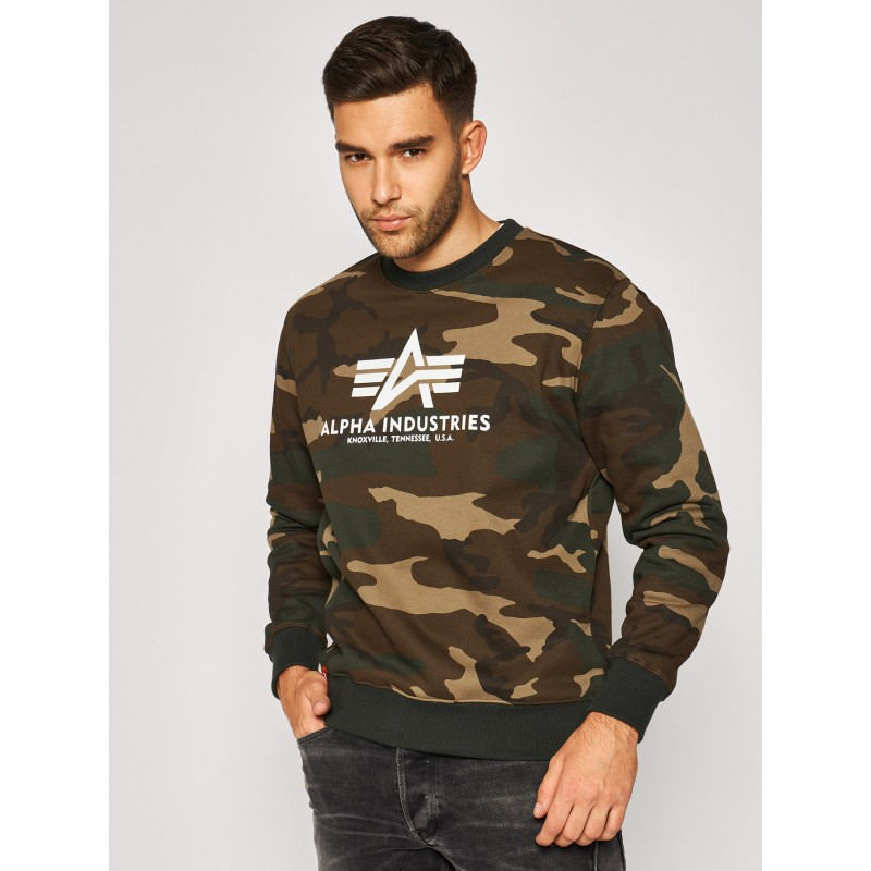 Basic Sweater Camo - woodcamo65