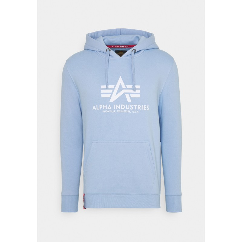 Basic Hoody - light blue