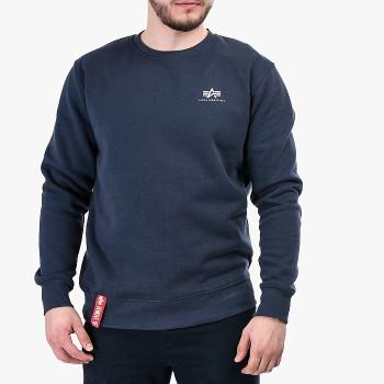 Basic Sweater Small Logo - navy