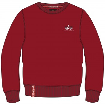 Basic Sweater Small Logo - rbf red