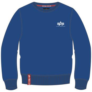 Basic Sweater Small Logo - nasa blue
