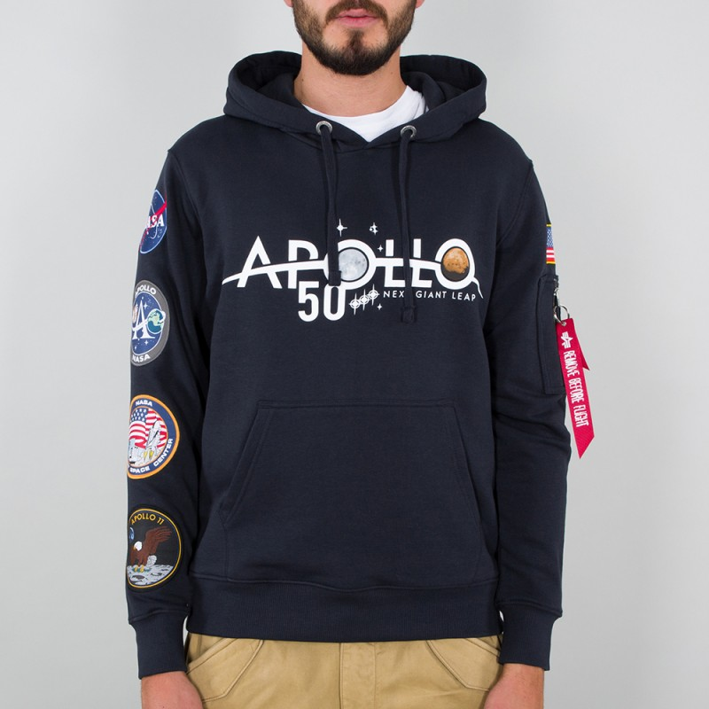Apollo 50 Patch Hoody - replica blue