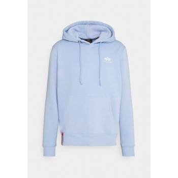 Basic Hoody Small Logo - light blue