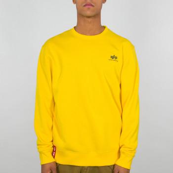 Basic Sweater Small Logo - empire yellow