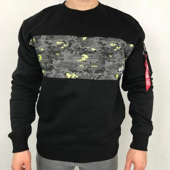 Camo Bar Sweater II - digi black camo