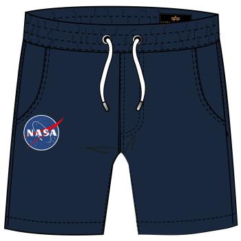 NASA Basic Sweat Short - replica blue
