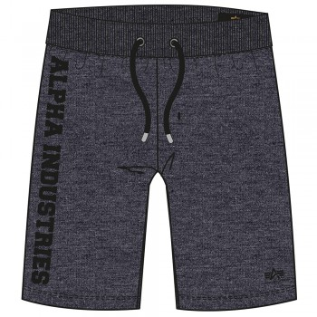 Big Letters Short - charcoal heather