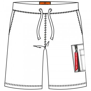 X-Fit Cargo Short - white