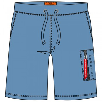 X-Fit Cargo Short - airforce blue