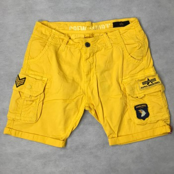 CREW SHORT PATCH - empire yellow