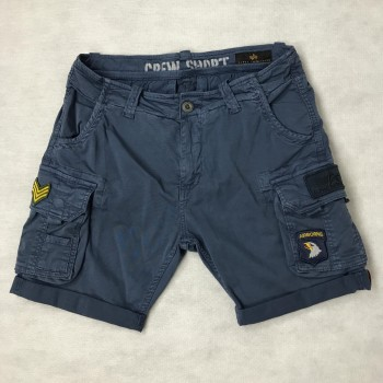 CREW SHORT PATCH - new navy