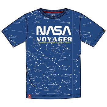 NASA Voyager AOP T-shirt - nasa blue