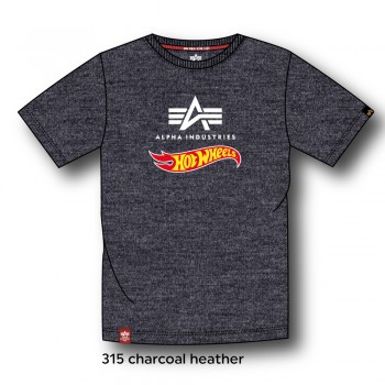 Hot Wheels Flag T - charcoal heather